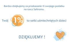 Dziękujemy za 1%